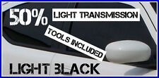 LIGHT BLACK 50% DARKER CAR WINDOW TINTING FILM 6m X 75cm ROLL TINT + FREE KIT