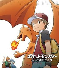 New Pocket Monster Pokemon The Origin Red and Green Blu-ray Poster Japan F/S