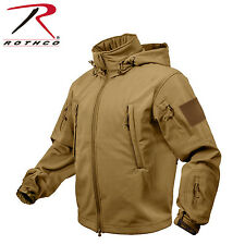 NEW Rothco 9745 Special Ops Tactical Soft Shell Jacket NEW - size L Tan/Coyote