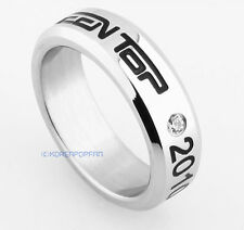 TEEN TOP TEENTOP ANGEL KPOP STAINLESS STEEL RING NEW FREE SHIPPING