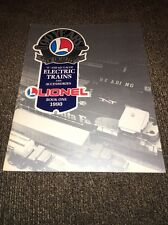 1990 LIONEL ELECTRIC TRAINS AND ACCESSORIES CATALOG BOOK ONE MODEL TRAIN a