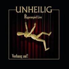 """UNHEILIG """"PUPPENSPIEL LIVE VORHANG AUF"""" 2 CD NEUWARe++++++++++++++++++++++"""