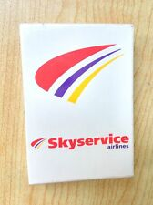 Mini Playing Cards Skyservice airlines - sealed deck harf of standard