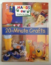 20-Minute Crafts Book by Kathie Stull (2001) Hardcover with DJ CRAFTS FOR KIDS