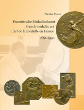 "Libro ""francese medaglie arte 1870-1940"" (Maier) - ROTY Chaplain Charpentier"