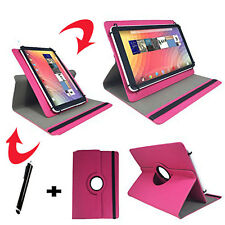 10 zoll Tablet Tasche - Asus Transformer Pad TF101 - 360° Pink 10