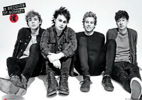 Official 5 Seconds Of Summer Sitting  Maxi Poster 91.5 x 61cm Mini Gaint 5SOS
