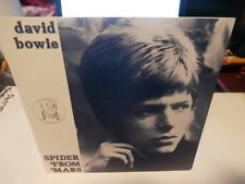 "david bowie""ep7""spider from mars""su:1983.vinyl vert.promo:ltd 200 exp.ultra rare"
