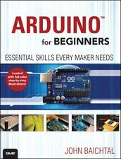 ARDUINO FOR BEGINNERS (9780789748836) - JOHN BAICHTAL (PAPERBACK) NEW