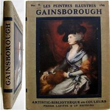 Thomas Gainsborough c1910 Henri Roujon Pierre Lafitte les peintres illustres