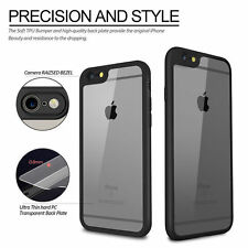 SLIM THIN Crystal Clear Soft TPU Bumper Back Case Cover For Apple iPhone 5/5S/SE