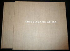 Ansel Adams at 100. Superb Fine Photography HB Folio, Slipcase, 1stEd