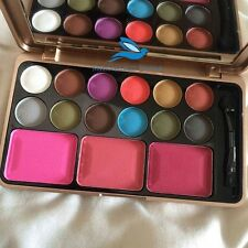 Mac Palette 12 Color Eye Shadow and 3 Colors Blusher
