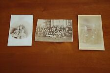 Job Lot Victorian Photograph/CDVs Girls' School /Brothers/Sisters McCully/Gale