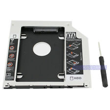 Apple Macbook Pro/Unibody Caddy Optibay 2nd HDD/SSD SATA Replaces DVD-D 9.5mm UK