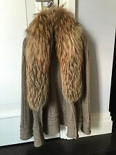 Roberto Cavalli Cardigan With Fox Fur
