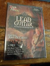 The Rock House Method LEAD GUITAR DVD Techniques For Creating Solos Brand New