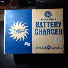 Vintage GE Nickel Cadmium Battery Charger BC1, In original box