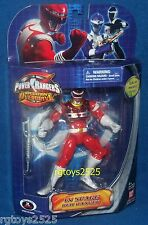 Power Rangers in Space Special Metallic Armor Red Ranger New 6.5 Inch