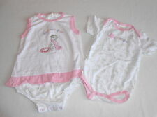 Baby Girls Clothes 9-12 Months-Cute Disney Bodysuit Dress Outfit & Vest Top