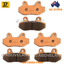 FRONT REAR Sintered Brake Pads for HYOSUNG GT 650 R 2007-2008