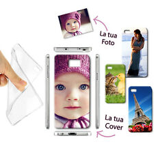 NEW CUSTODIA COVER MORBIDA GEL TPU FOTO PERSONALIZZATA PER Samsung Galaxy S6