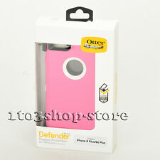 OtterBox Defender Case w/Belt Clip for iPhone 6 Plus iPhone 6s Plus (Pink/White)