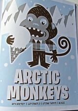 Arctic Monkeys Mini-Concert Poster Reprint for 2007 Kansas City Missouri 14x10