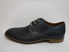 Steve Madden Size 11.5 Blue Leather Oxfords New Mens Shoes