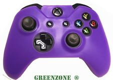 Purple Soft Silicone Rubber Protective Skin Grip Cover for Xbox One Controller