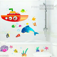 "Clearance--Wall Sticker ""Finding Nemo"" Removable PVC Decal Home Bedroom Children"