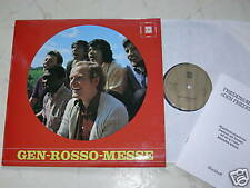 GEN-ROSSO-MESSE Same 60s/70s LP + Friedens-Beatmesse
