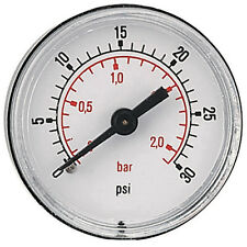 Pressure Gauge 40mm G1/8bspt 0 - 1Bar/15psi