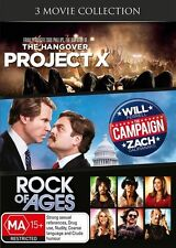 Project X / The Campaign / Rock of Ages = NEW DVD R4
