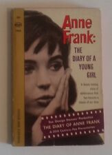 Anne Frank: The Diary of a Young Girl vintage paperback 1966