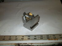 MACHINIST LATHE MILL Tool Maker s Ground & Hardened Special V Block for Hold