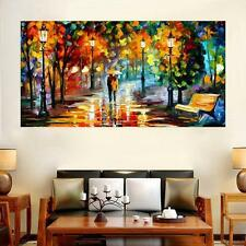 5D DIY Cross Stitch Home Decor Diamond Painting Pictures of Walking in the Rain