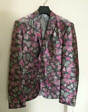 Thom Browne Silk Jacquard Evening Jacket Butterfly Print Size 3(48) NWT FW2014
