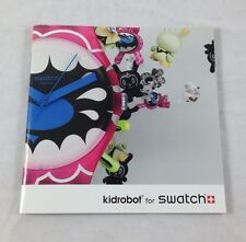 Kidrobot x Swatch Exclusive Promo Premium Art Watch Book Kozik Jeremyville Mad +