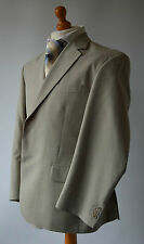 Men's Light Beige/ Oatmeal Gurteen Wool Mix  Suit, Jacket 42S, Trousers 36S.