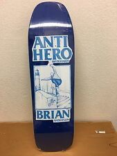 Anti Hero BA Skateboard Deck Special Pro Shape 9.25 Brian Anderson New Nike SB