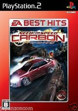 Used PS2  Need for Speed Carbon   SONY PLAYSTATION JAPAN IMPORT