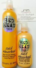 Tigi Bed Head Self Absorbed Shampoo 13.53 oz & Conditioner 8.45 oz set