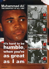 Palau 2008 MNH Muhammad Ali Greatest All Time  4v M/S II Boxing Stamps