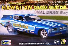 Revell Monogram 1:16 Dodge Charger Roland Leong's Hawaiian Funny Car Model Kit