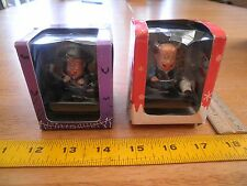 Old Master Q lot of 2 figures MIB 2008 OMQ Zmedia Halloween Christmas 45th annv