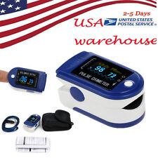 US OLED Fingertip Pulse Oximeter, Finger Blood Oxygen SpO2 PR Heart Rate monitor