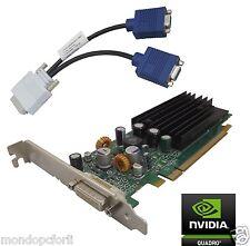 SCHEDA GRAFICA PCI EXPRESS_128 Mb_NVIDIA QUADRO NVS 285-128MB+VGA Splitter Cable