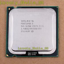 Intel Pentium D 945 3.4 GHz 4 MB LGA 775 Dual-Core (BX80553945) Processor