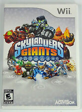 SKYLANDERS GIANTS WII!! GAME ONLY!! FUN FAMILY GAME!!